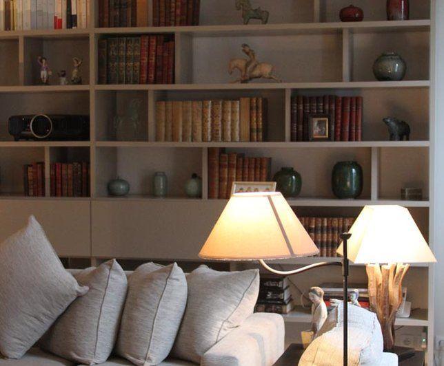 Photo Deco : Salon Blanc Classique Maison classique chic beige ...