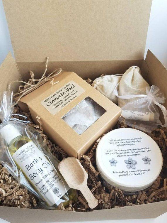 Spa Gift Set Birthday GiftsFor Her Tea For Women Box