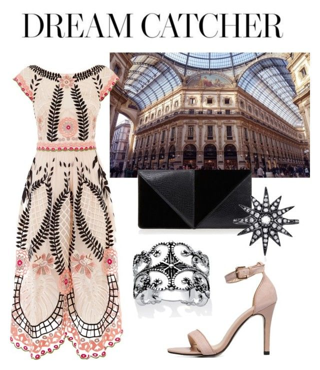 """Milano. Just once..."" by rachel-fisher-i on Polyvore featuring Temperley London, Palm Beach Jewelry, UN United Nude and Shay"