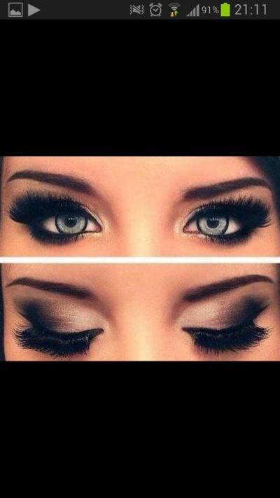 e0aa1edc3 sweet Make-up! smokey eye done right! iv ALWAYS wanted to be able to ...