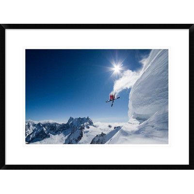 """Global Gallery 'Higher' by Tristan Shu Framed Photographic Print Size: 20.7"""" H x 28"""" W x 1.5"""" D"""
