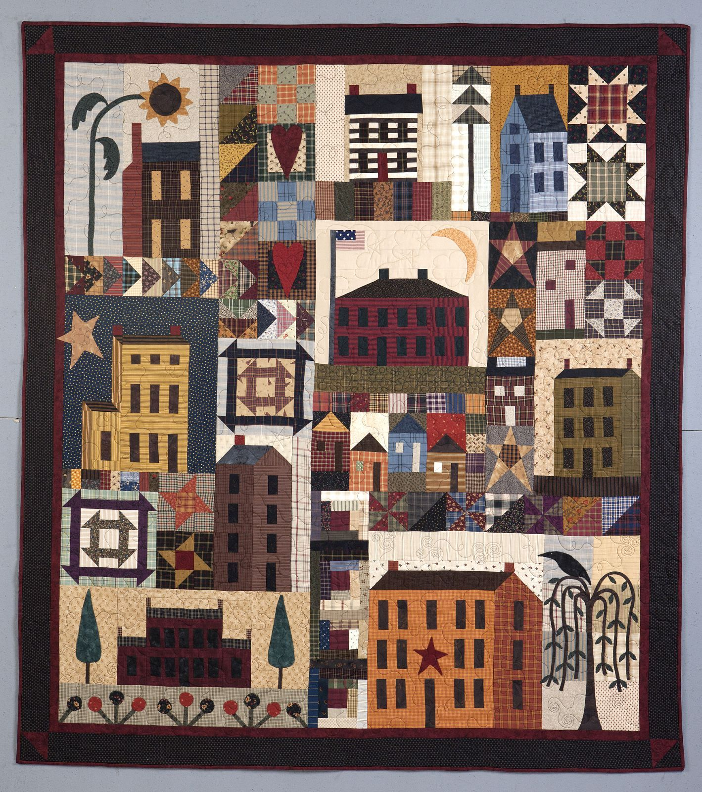 Pin By The Hen House Quilt Shop On Craft Ideas Picture Quilts Quilts House Quilts