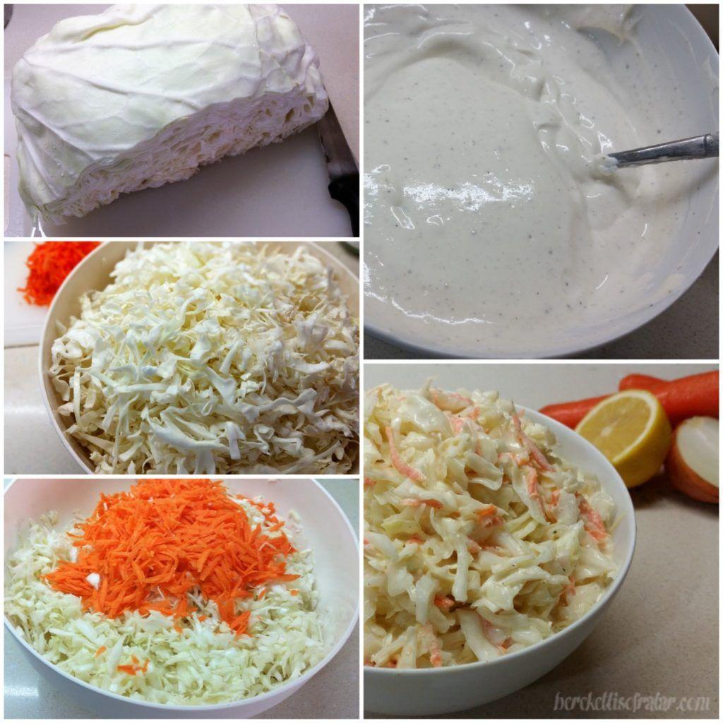 Beyaz Lahana Salatası (Coleslaw) Tarifi – Salata Tarifleri