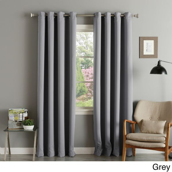 The Set Includes Two 90 Inch Window Panels That Are Available In Various Colors