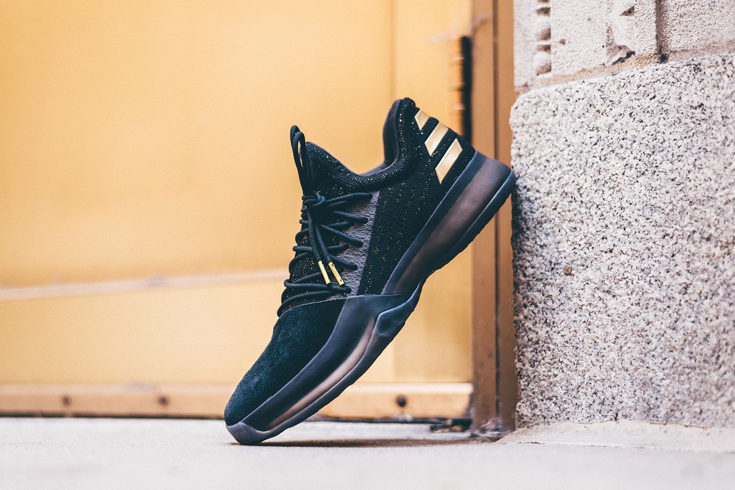 lowest price c5584 3474b After getting a look at the silhouette last month, here we showcase the  first colorway that adidas is releasing of James Harden s Harden Vol. 1  signature.