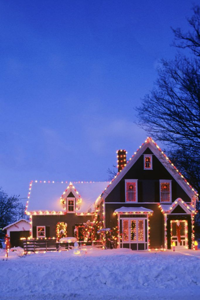 Outdoor Christmas Light Decoration Ideas Outdoor christmas, Light
