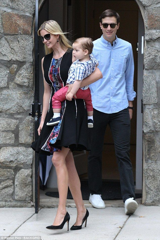 Ivanka Trump, Joseph and Jared leave home together