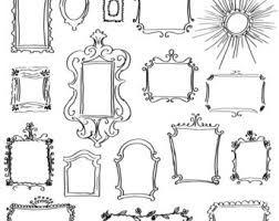 Risultati immagini per cornici quadri da ritagliare