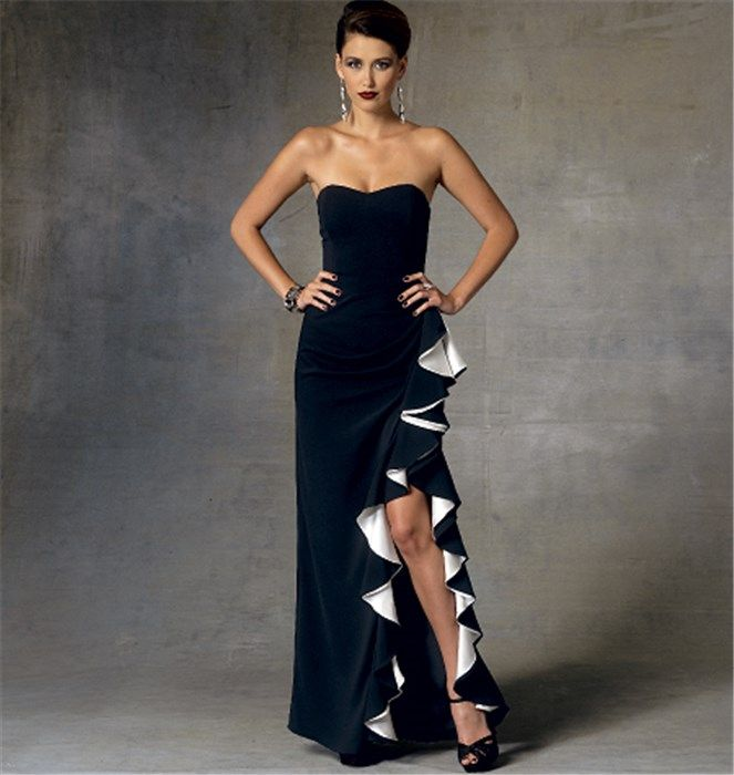 Patron couture robe de soiree vogue