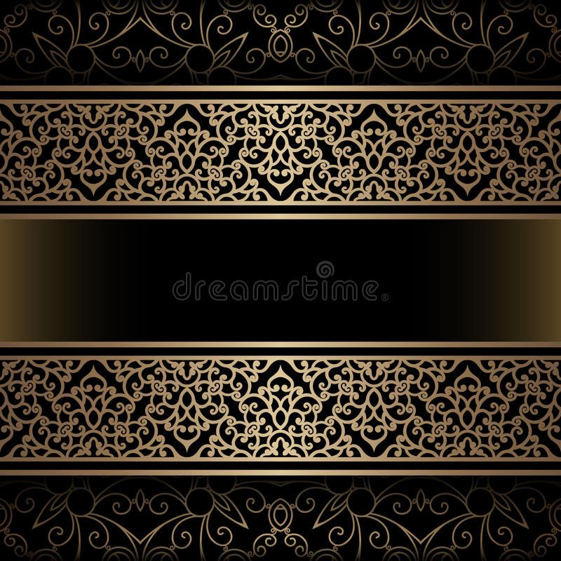 Vintage Gold Background With Ornamental Borders Affiliate Gold Vintage Background Borders Ornamen Gold Background Gold Border Design Vintage Gold
