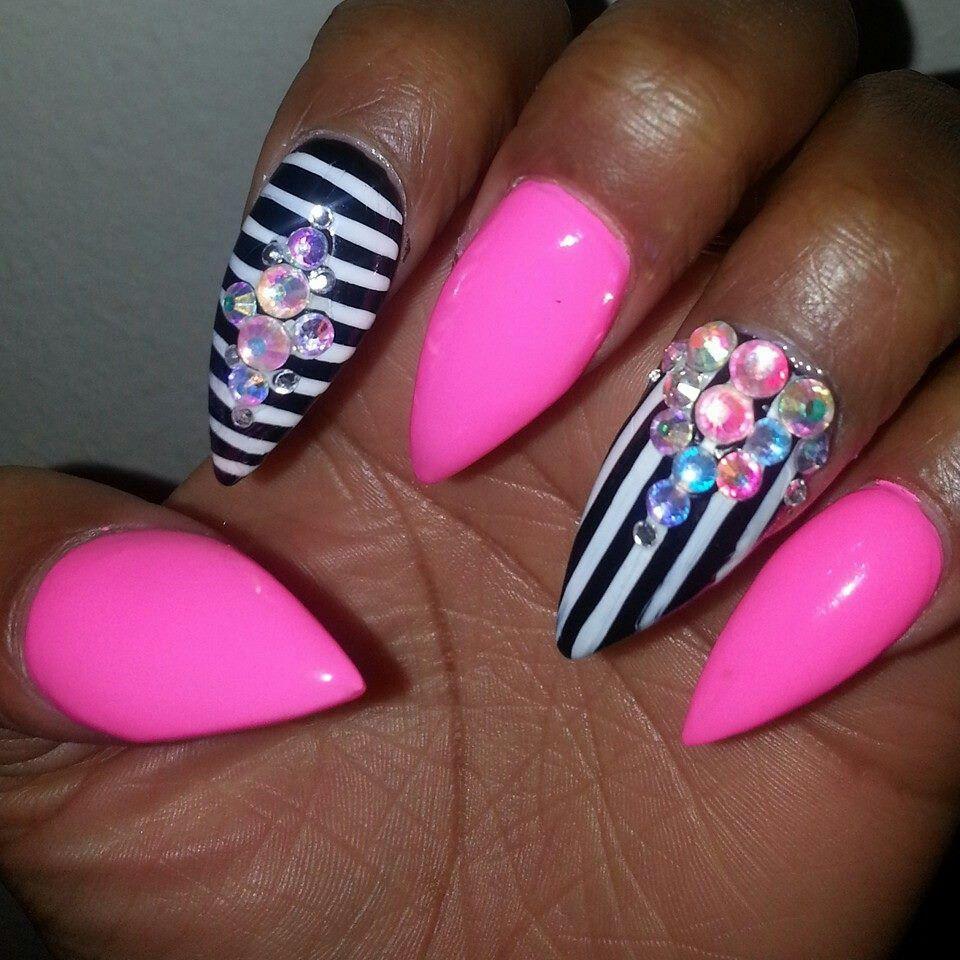 Princess Acrylic Nails: Nails Nails & More Nails In