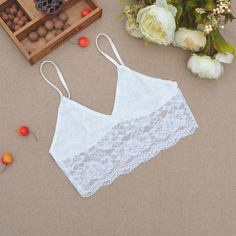 5ac7813fec FREE SHIPPING Women Crops Top Crochet Lace Floral JKP488 - Allkpop Shop