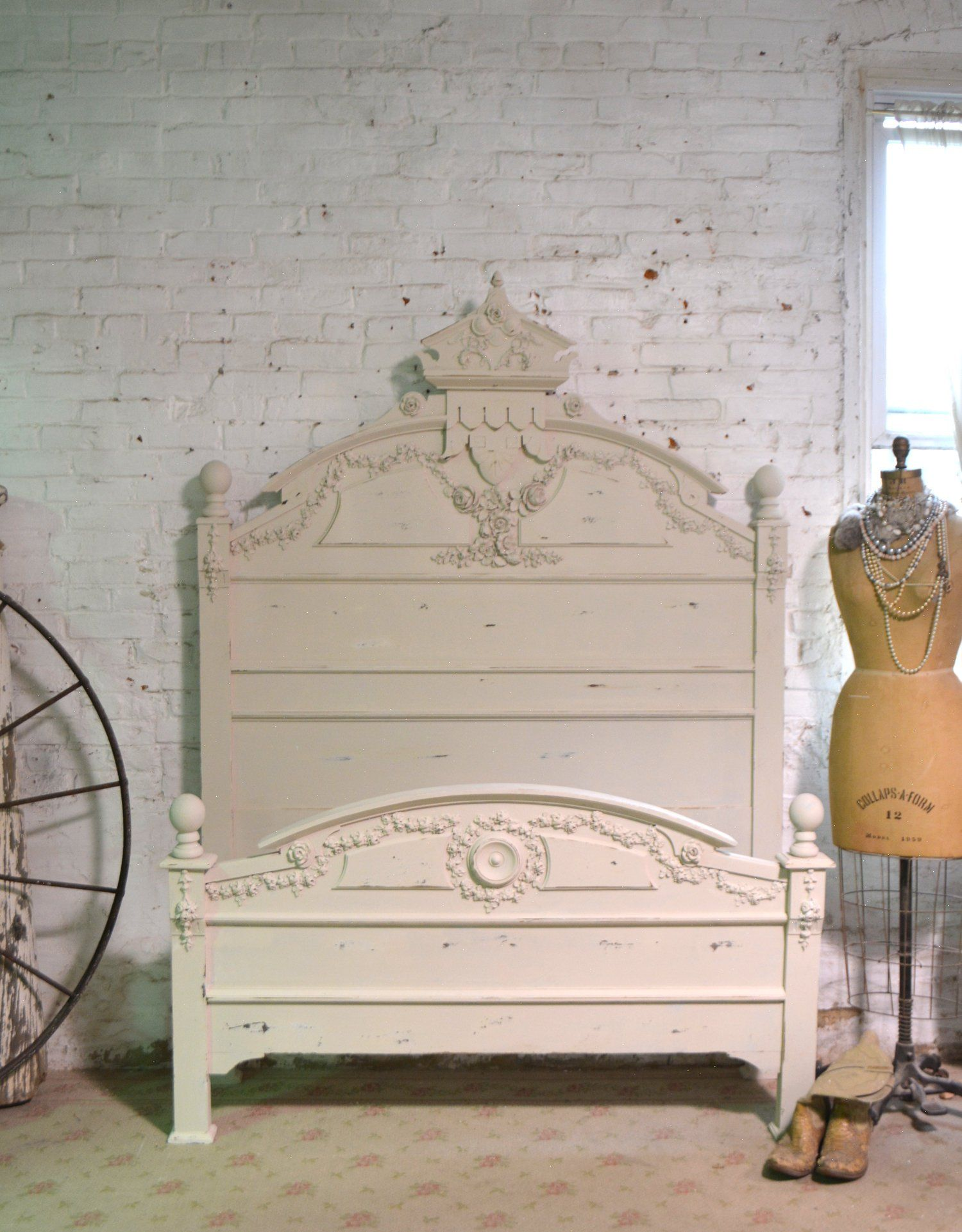 Painted Cottage Prairie Chic Vintage Victorian Full Size