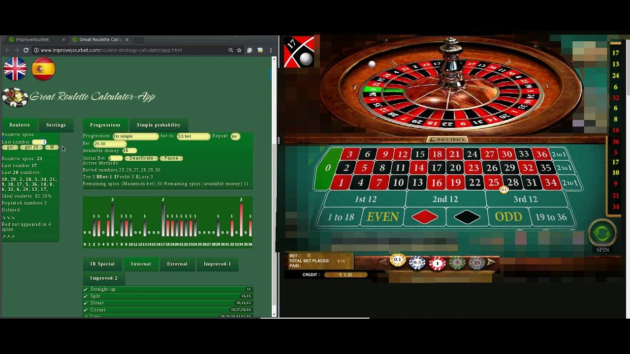 Roulette odds calculator excel