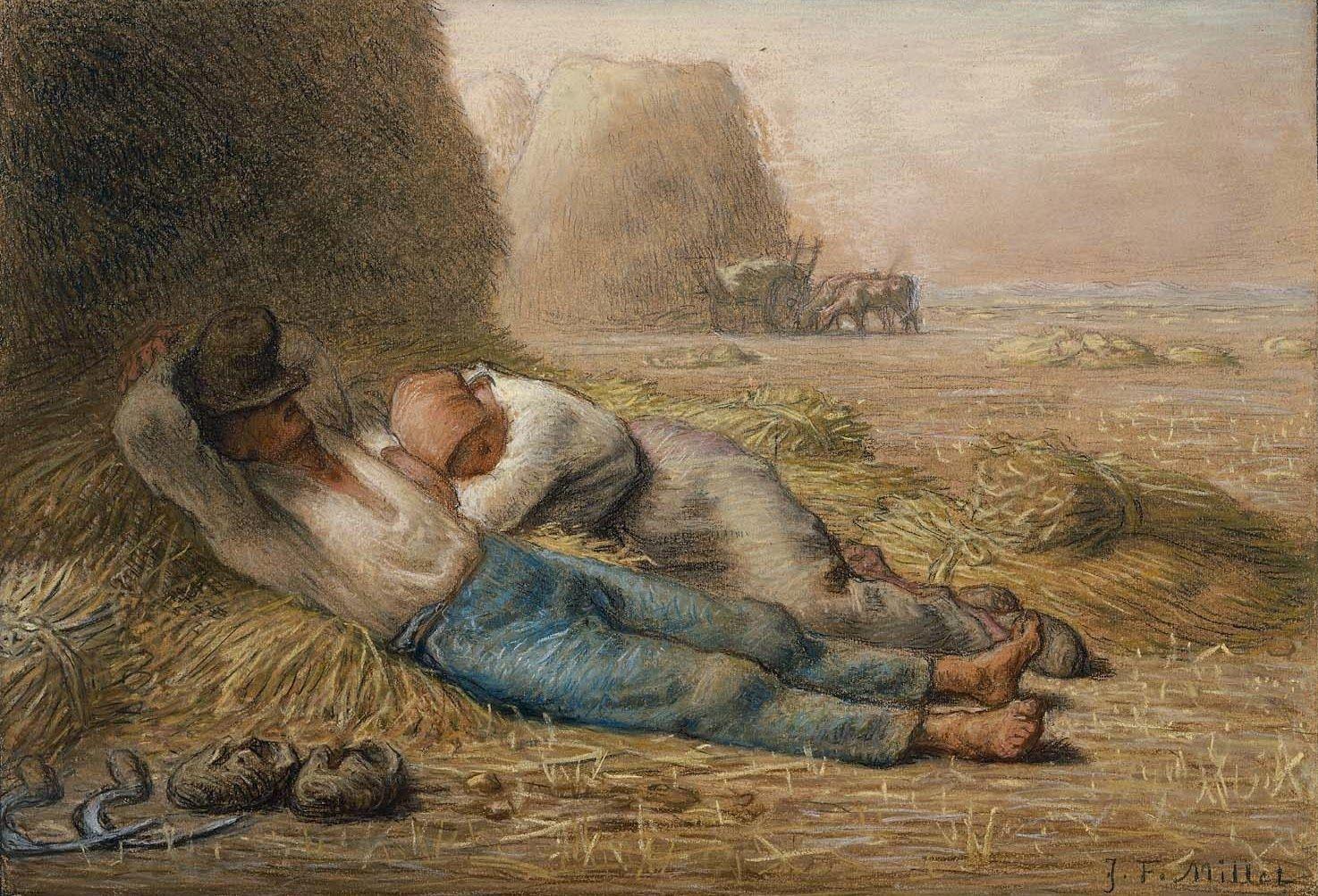 Jean-Francois Millet   Miglio, Dipinti, Artisti