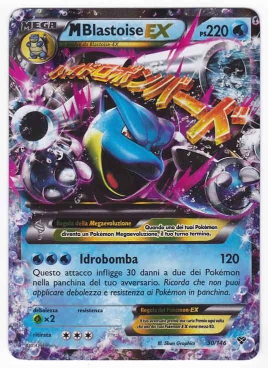 Mega Blastoise Ex Blastoise Ex A B C Rare Pokemon