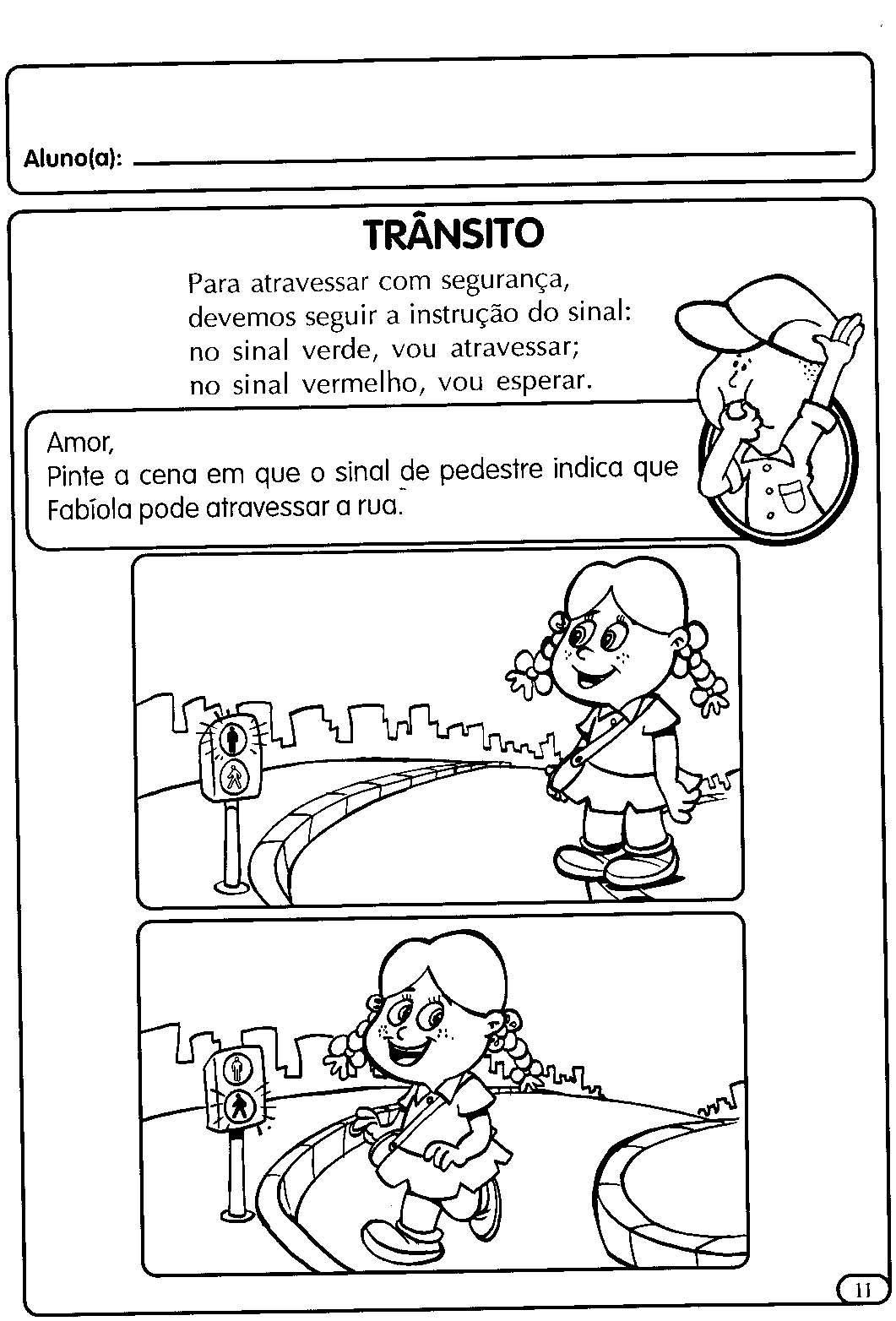 Atividades Para A Educacao Infantil O Transito Em 2020 Educacao