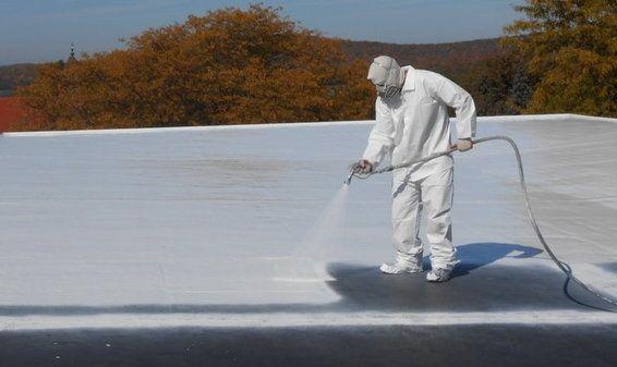 اختيار مواد العزل المناسبة أن تكون ذات درجة عالية في مقاومتها لامتصاص بخار الماء أن تكون مقاومتها للاجهاد Roof Coating Rubber Roof Coating Metal Roof Coating