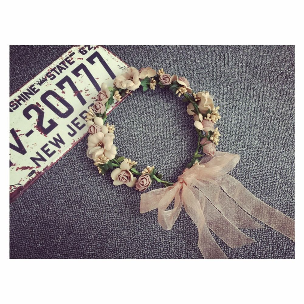 Ha hair accessories for sale - Cheap Hair Accessories Buy Directly From China Suppliers Summer Bohemia Handmade Flower Crown Wedding