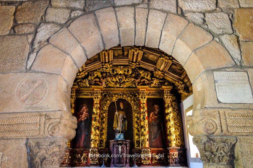 Capilla Capela de São Pedro de Balsemao, cerca de Lamego | Portugal Turismo