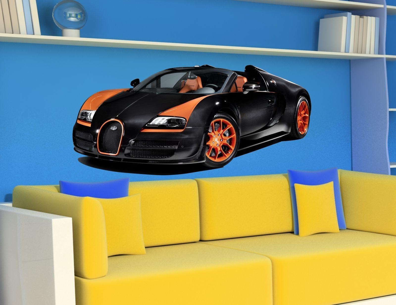 5 99 Gbp Wall Stickers Cars Bugatti Veyron Grand Sport Vitesse Sticker Car Decal Room E Cars Bugatti Veyron Bugatti Cars Bugatti Veyron Grand Sport Vitesse [ 1230 x 1600 Pixel ]