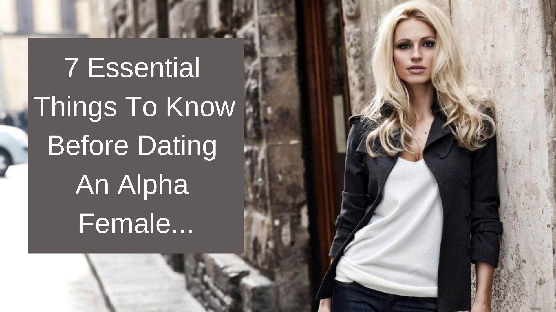 alpha female dating app