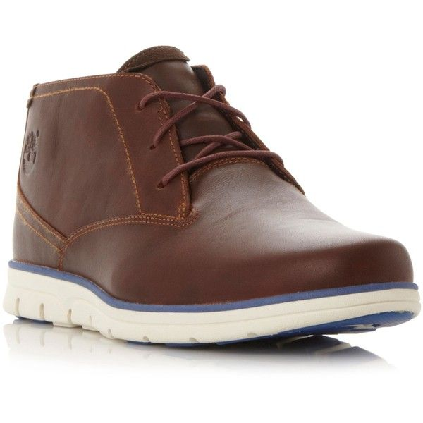 2016 Hot Sale Barbour Redhead Chukka Boots Men Leather Chestnut HAPXR59