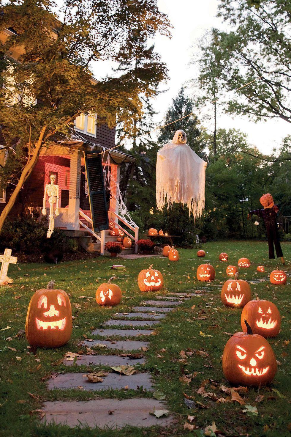 Projection Kaleidoscope Spider Spooky Outdoor Halloween Decor