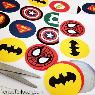 Printable anniversaire super heros anniversaire - Kit anniversaire super heros ...