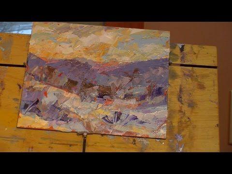 cynthia rosen plein air demo 2 youtube painting methods