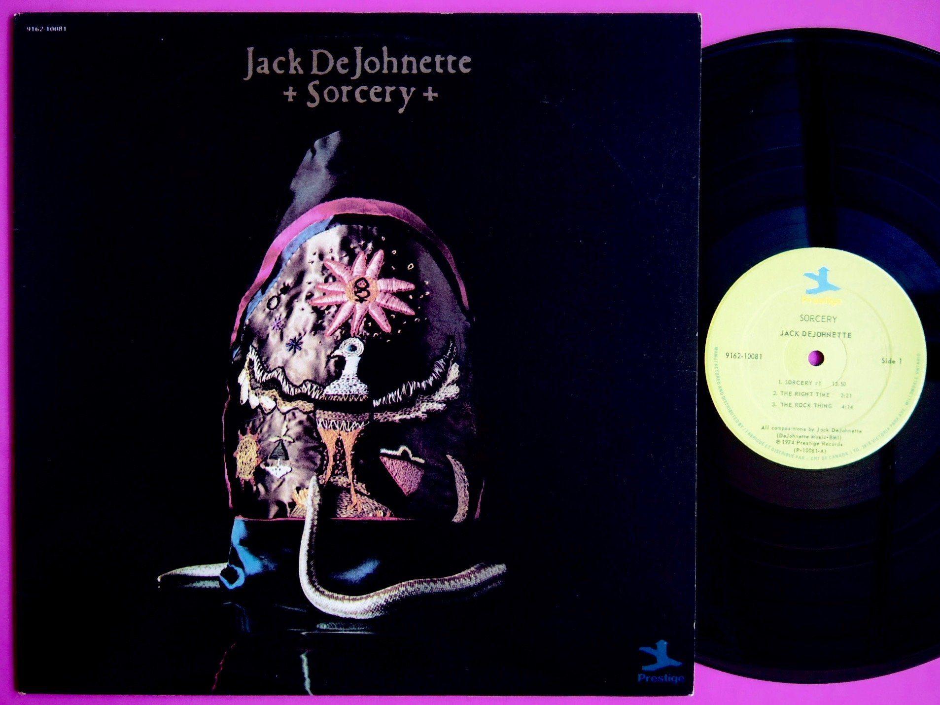 JACK DeJOHNETTE / SORCERY | サイケデリック, 布石, ベニー