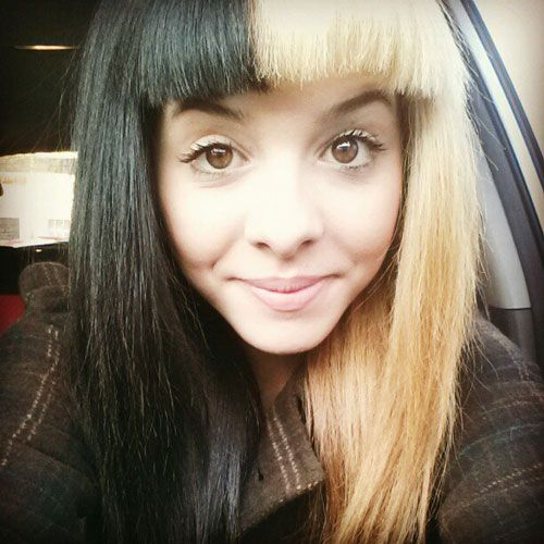 Melanie Martinez Without Makeup Search By Google Google Makeup Martinez Melanie Search Halsey Hair Teal Hair Blonde Hair Images
