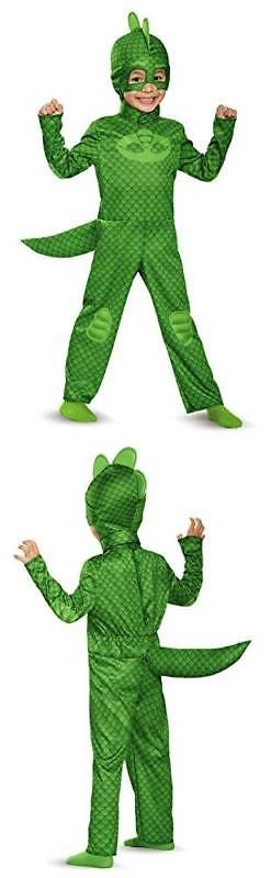 Medium//3T-4T Gekko Classic Toddler PJ Masks Costume
