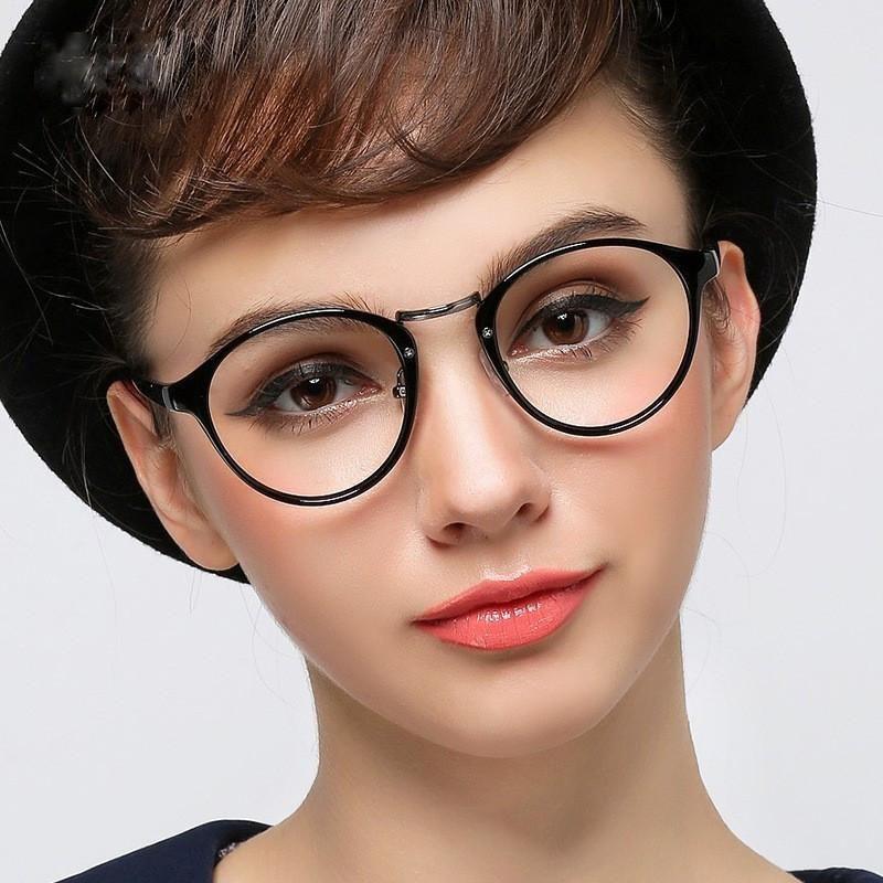 ab590628025 Buy RETRO NERD Geek Oversized BLACK Framed Spring Temple Clear Lens Eye  Glasses and other Sunglasses