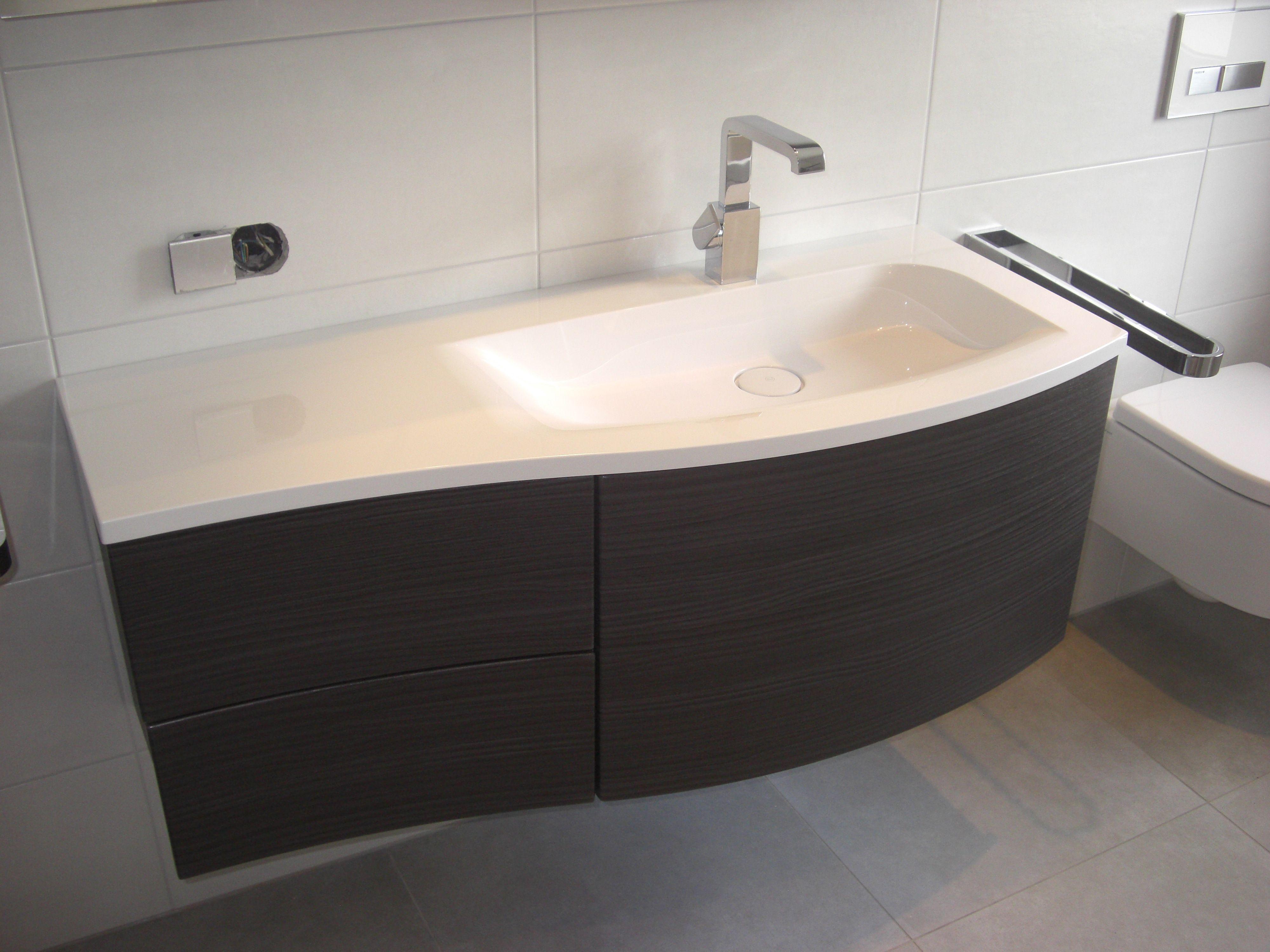 Waschtisch mit Unterschrank, geschwungene Form Bathroom Pinterest ~ 25031859_Waschtisch Unterschrank Wäschekorb