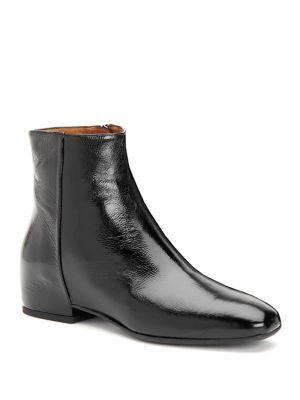 Aquatalia Ulyssa Patent Leather Wedge Booties 83kzubphCx