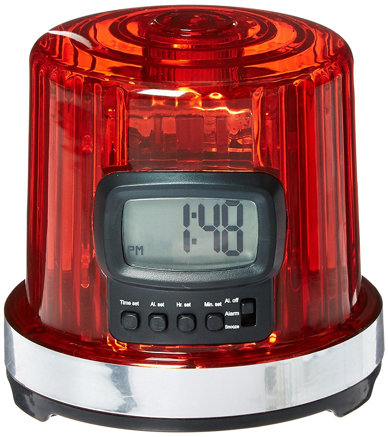 Nhl League Logo The Goal Light Alarm Clock Small Black Read More Reviews Of The Product By Visiting The Link On The Im Light Alarm Clock Clock Alarm Clock