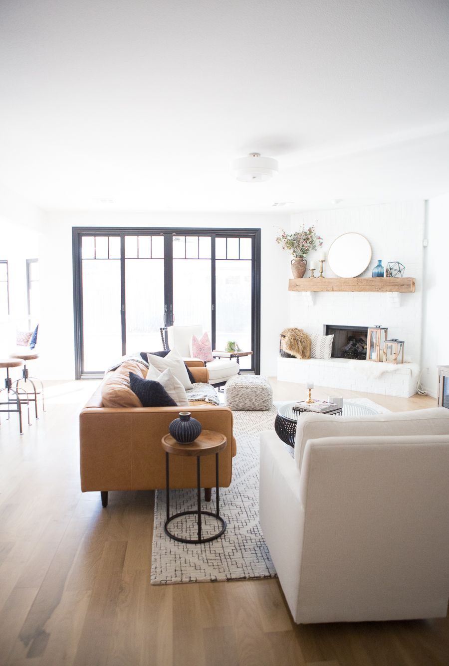 Tulsa remodel reveal modern white farmhouse interiors u exteriors