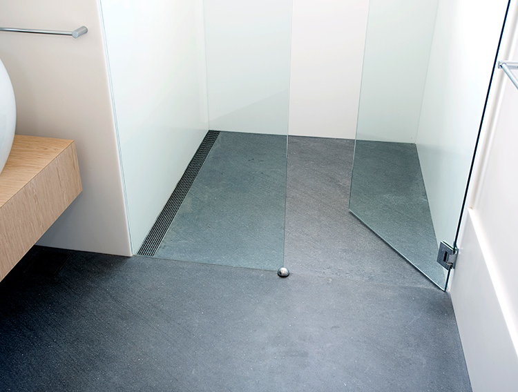 No Limitation On Tile Size Or Slab Material Can Be Placed As