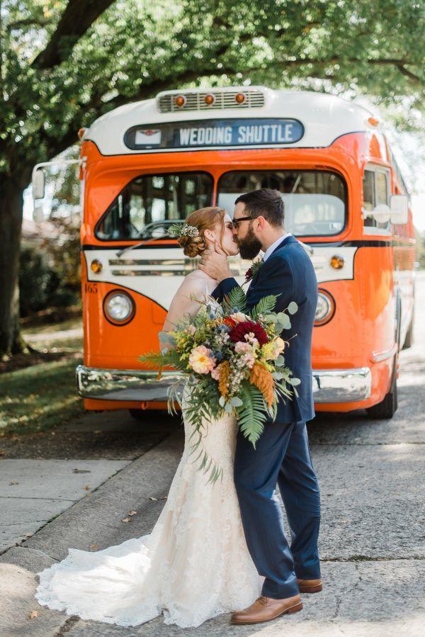 An Eclectic Fall Wedding in Pittsburgh Fall wedding