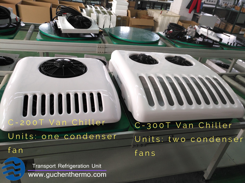 Guchen Thermo Van Refrigeration Unit Is Roof Top Unit Include Van Freezer Unit And Van Chiller Unit Apply For Small To Big Van Box Meet Van Big Van The Unit