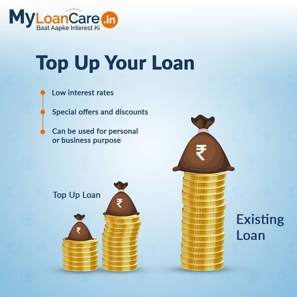 Apply For Top Up On Your Existing Loan If You Need Funds For Personal Or Business Use Myloancare Baataapkeinterestki Topupl Loan Personal Loans Home Loans