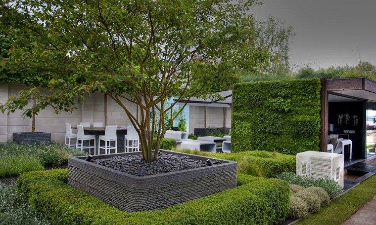 Jardines De Diseo Moderno Stunning Perfecto Diseo Jardin
