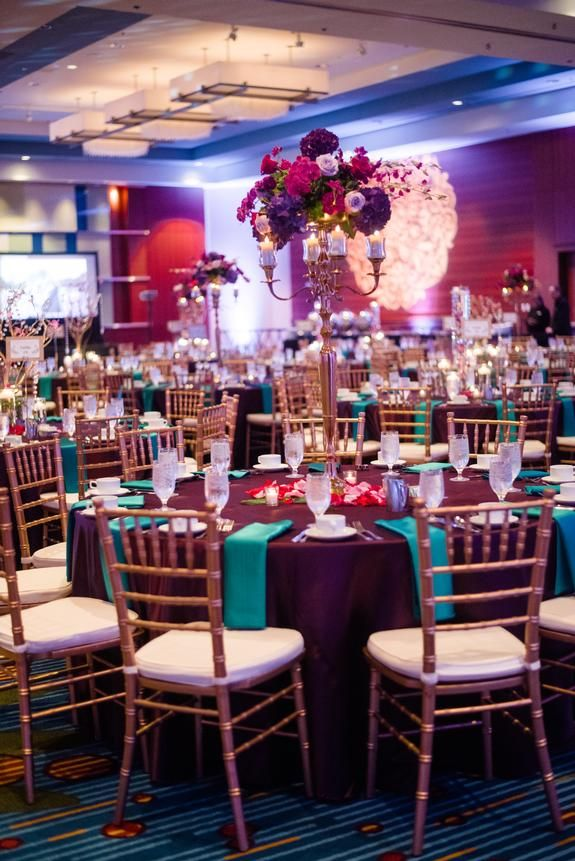 Gold Gilded And Vibrantly Colorful Wedding Wedding At Marriott City Center Minneapolis Linen Effects Wed Event Tablecloth Rental Decorating Wedding Rentals