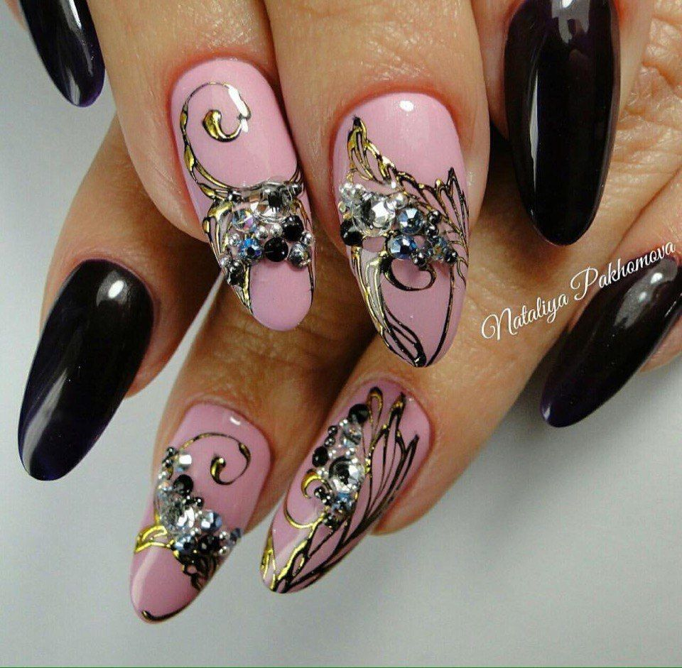 Nail Art Trend Luxury Nail Polish Nail Stickers Stock: Nail Art #3058 - Best Nail Art Designs Gallery