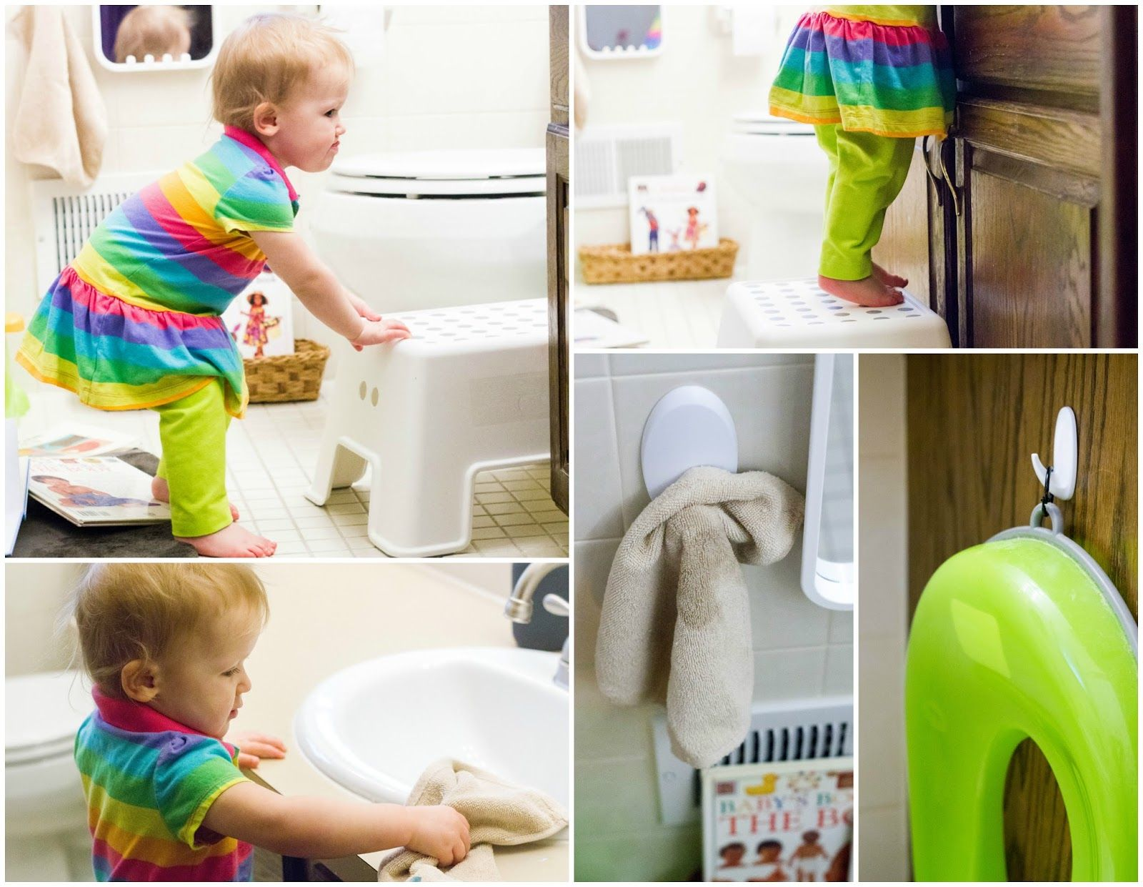 Montessori Home -- The Bathroom | Montessori, Practical life and ...