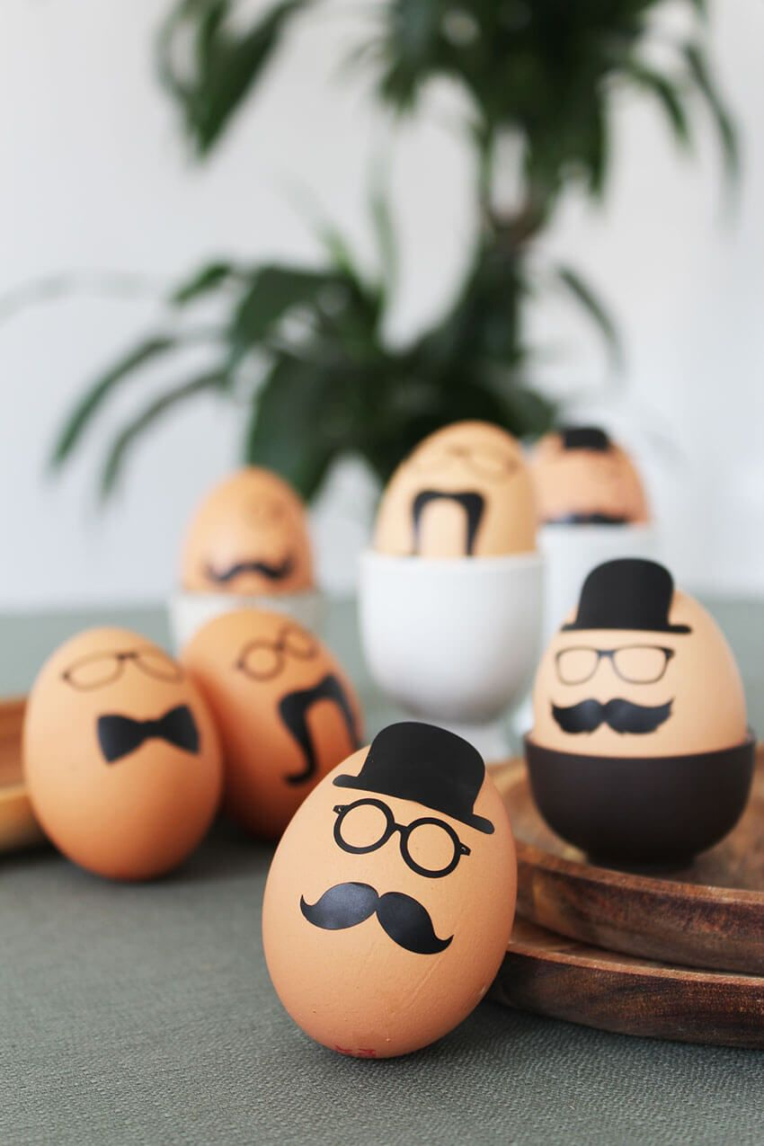 DIY Easter Egg stickers | Easter Craft Projects |