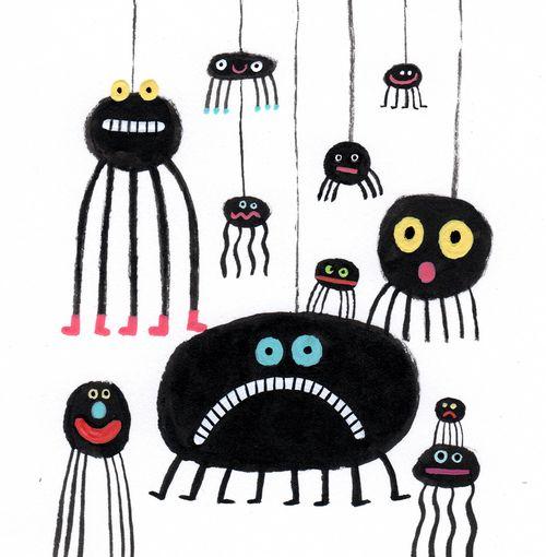 Spinnen: afbeelding gevoelens
