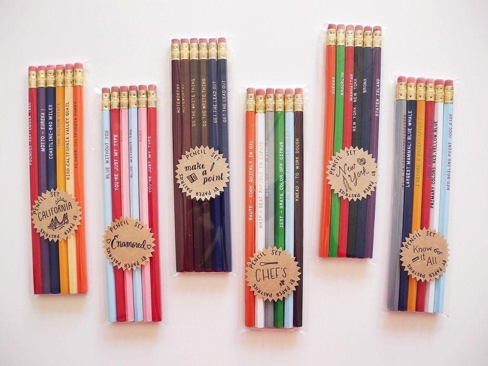 (via Paper Pastries Pencil Set | Paper Pastries)