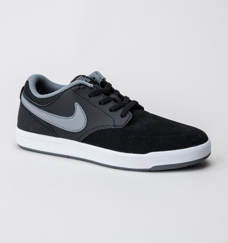 Nike SB Fokus GS Black Cool Grey White boys footwear